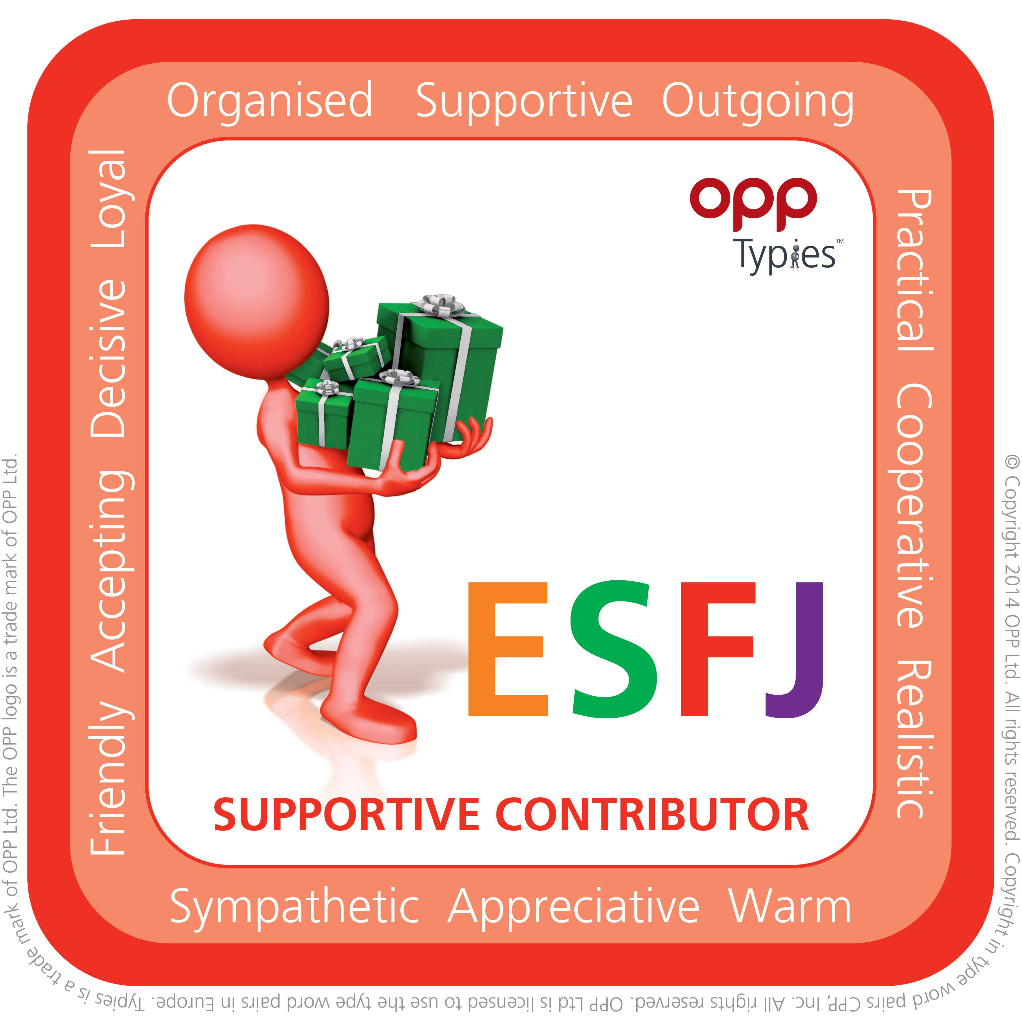 ESFJ MBTI Natal People for Success P4S