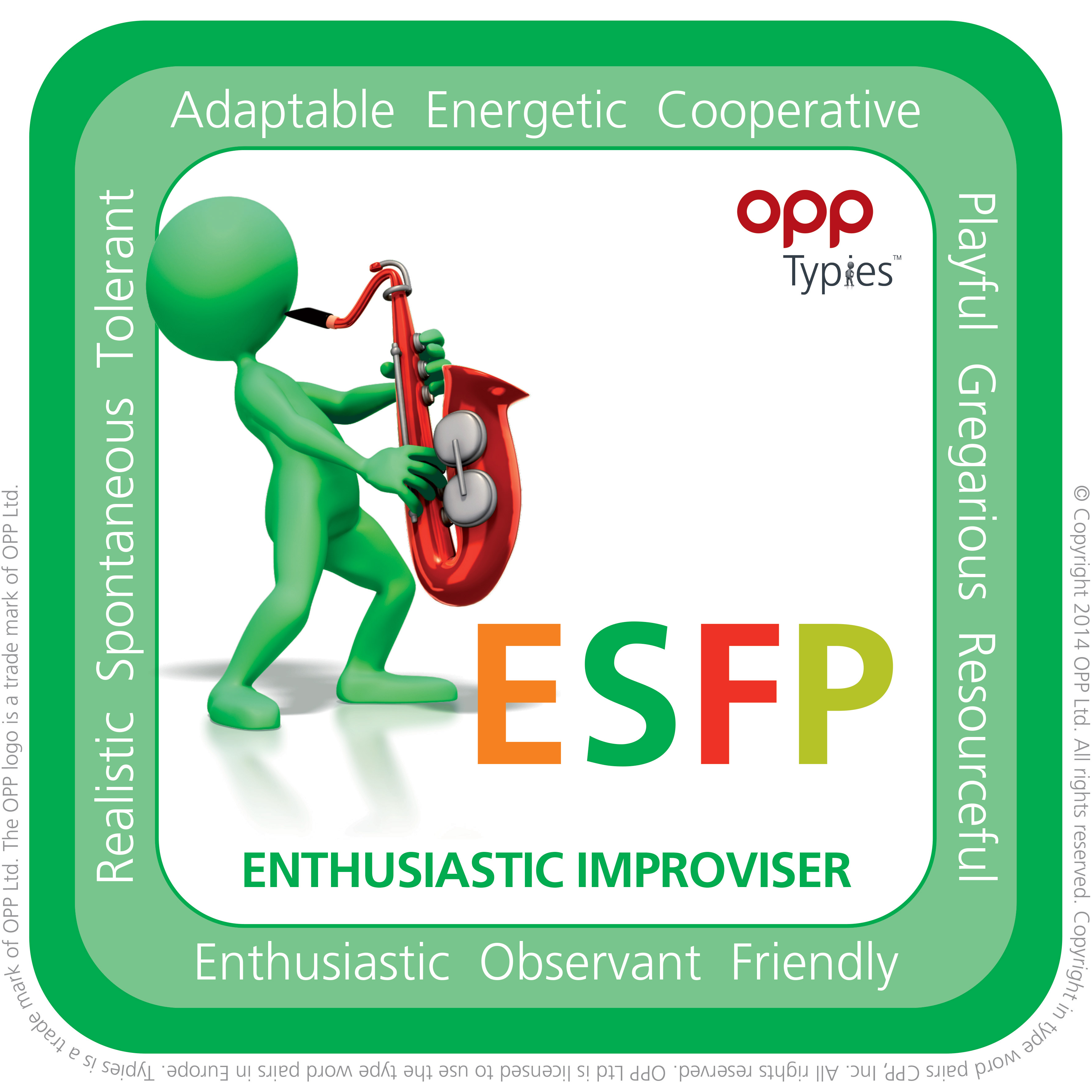ESFP MBTI Natal People for Success P4S