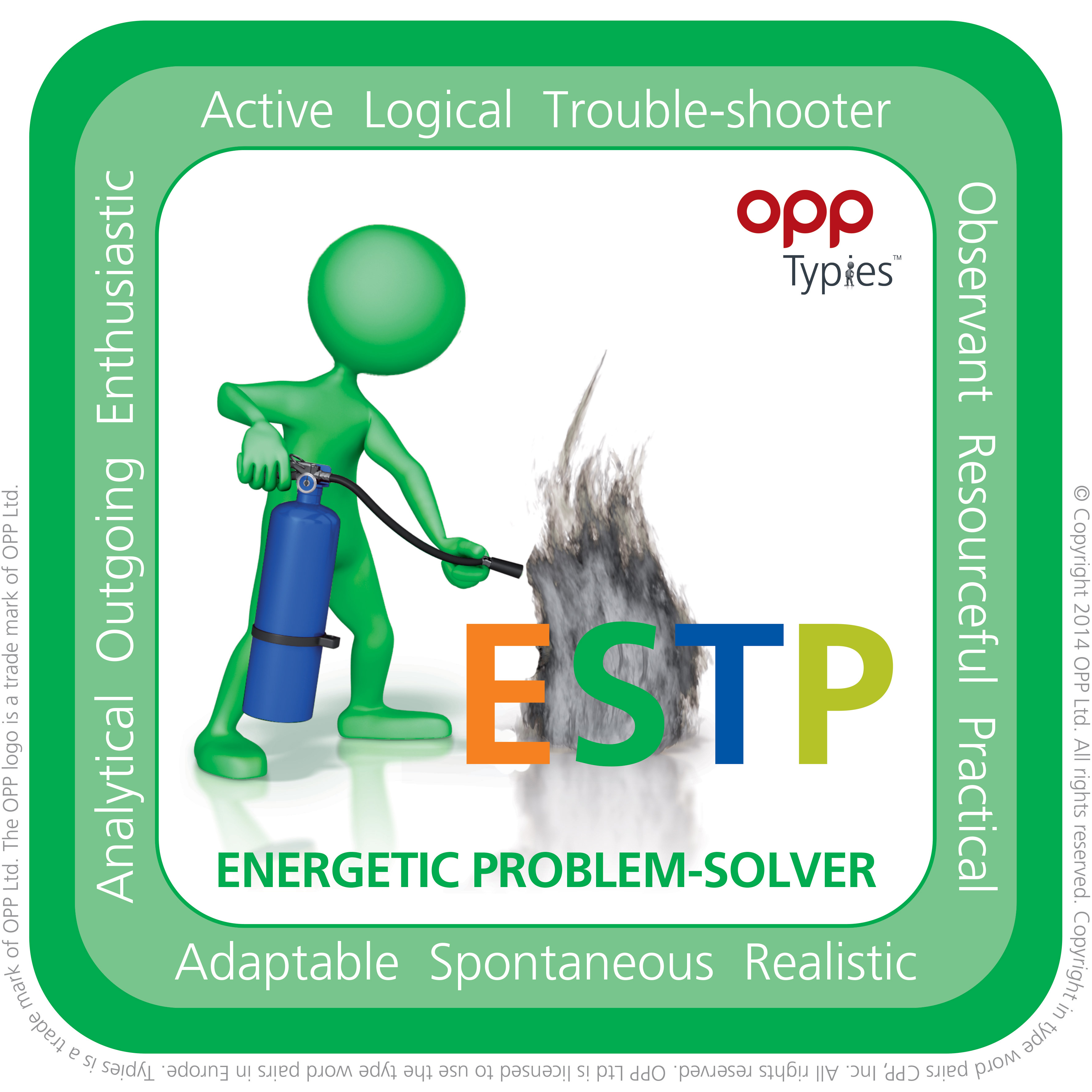 ESTP MBTI Natal People for Success P4S
