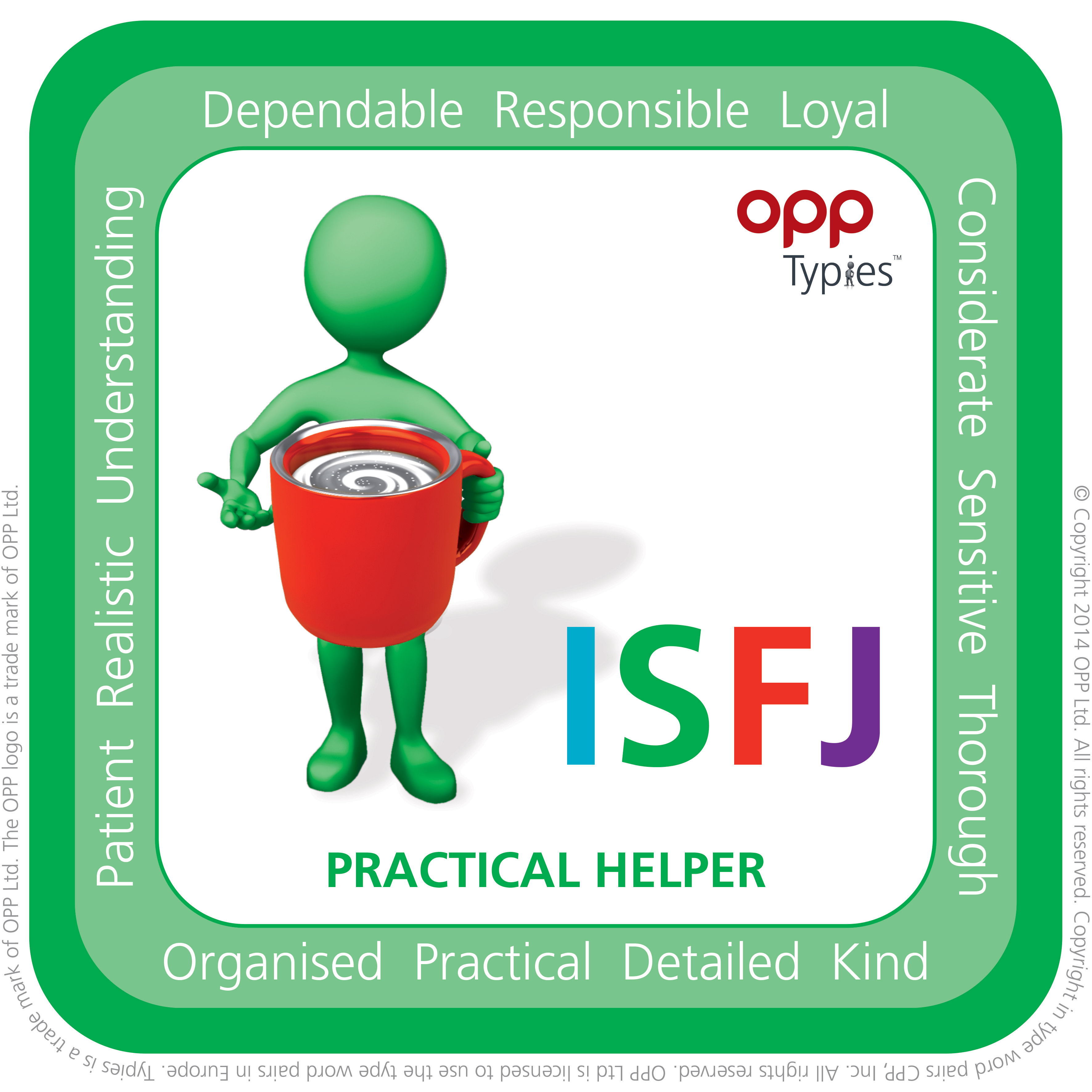ISFJ MBTI Natal People for Success P4S