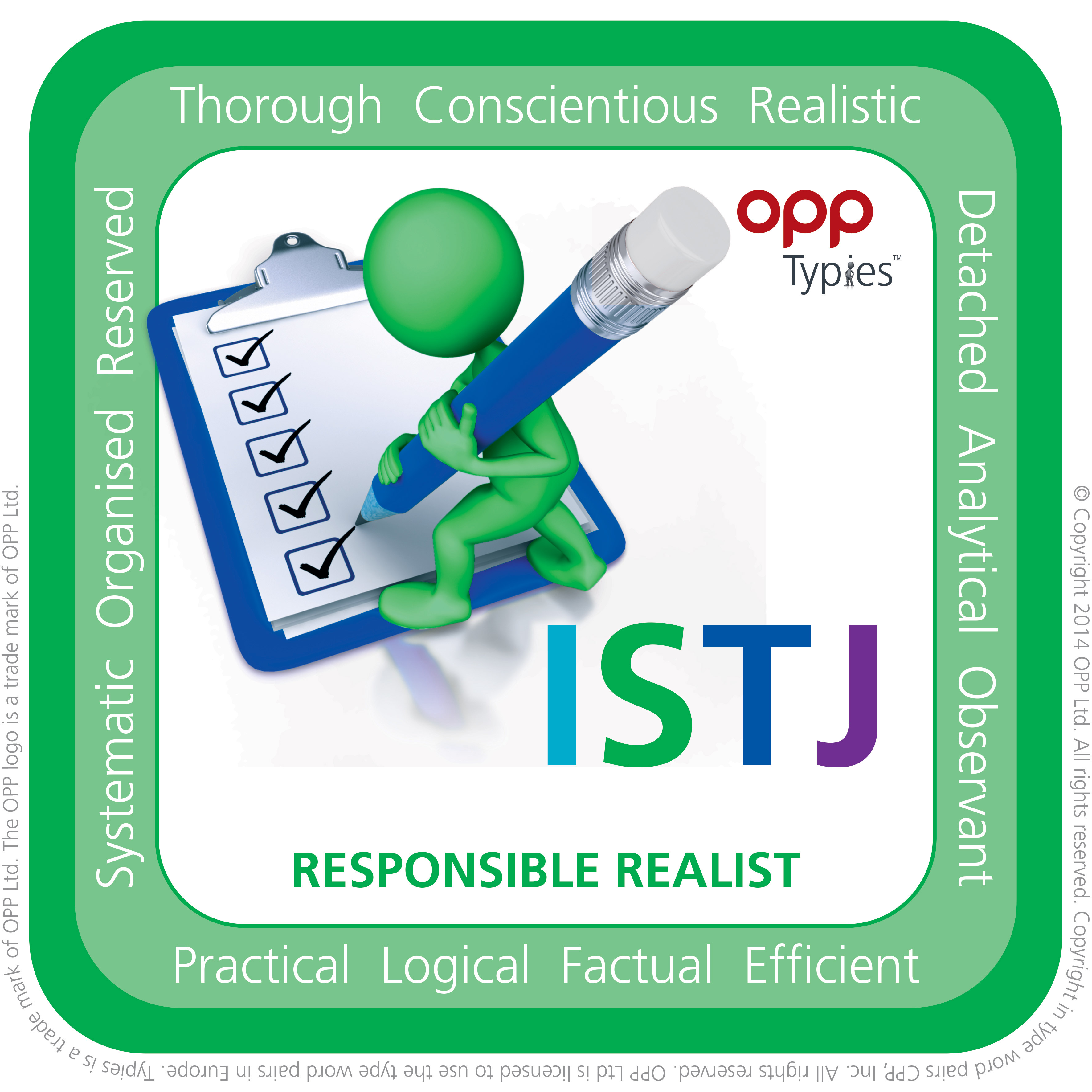 ISTJ MBTI Natal People for Success P4S